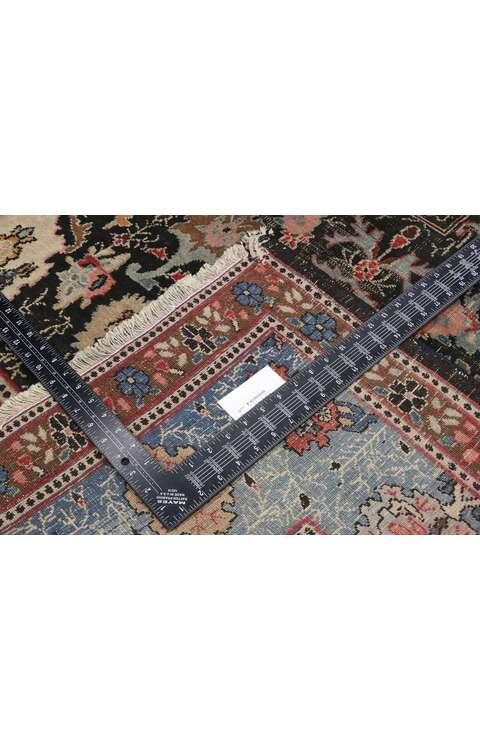 7 x 10 Antique Persian Khorassan Rug 73046
