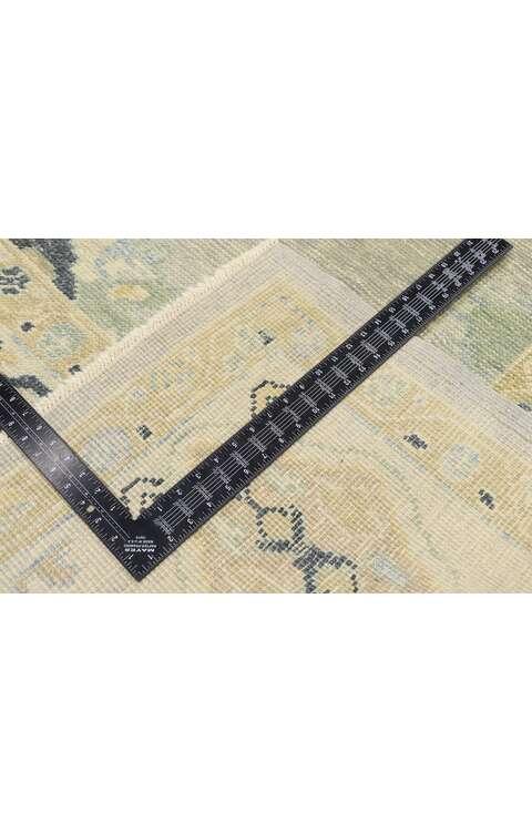 9 x 13 Contemporary Turkish Oushak Rug 53510