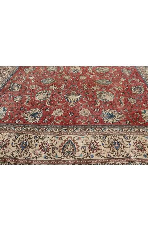 11 x 14 Antique Persian Tabriz Rug 77642