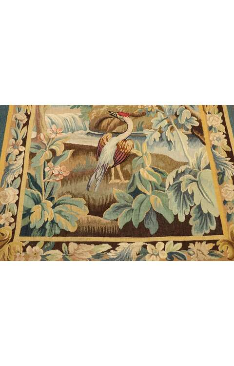 3 x 5 Antique French Verdure Tapestry 777643 x 5 Antique French Verdure Tapestry 77764