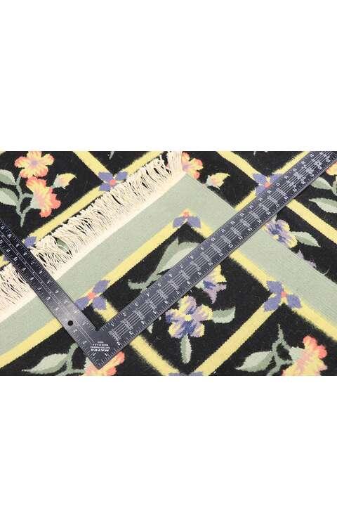 4 x 6 Vintage Floral Kilim Rug 77809