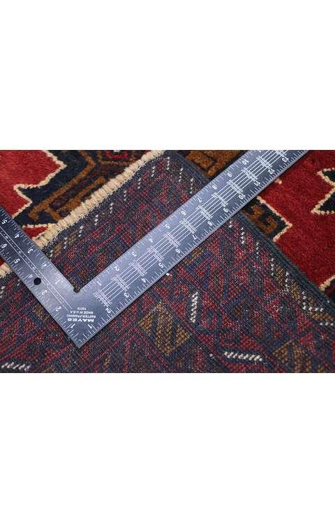 3 x 5 Vintage Baluch Rug 78089