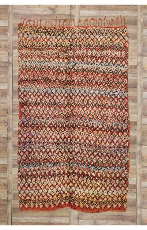 7 x 12 Vintage Moroccan Rug 21256