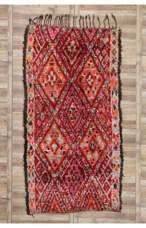 6 x 12 Vintage Moroccan Rug 21275