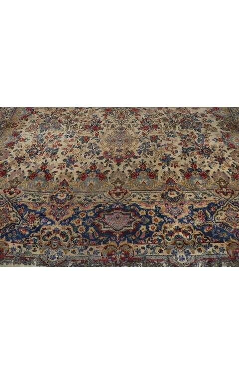 10 x 18 Antique Persian Kerman Rug 77652