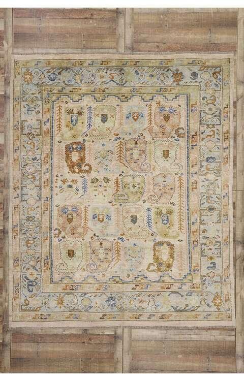 8 x 10 Contemporary Oushak Rug 80678