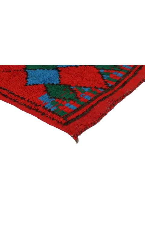 4 x 8 Vintage Moroccan Rug 20029